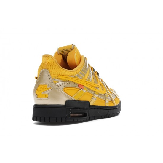 Nike Air Rubber Dunk Off-White University Gold